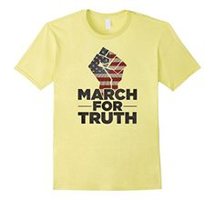Only $11.99 with free shipping! Men's March For Truth T-Shirt Protest Tee Shirt #MarchForTruth  Available in Mens, Womens, and kids sizes. https://www.amazon.com/dp/B0722YW57Q/ref=as_li_ss_tl?ie=UTF8&linkCode=ll1&tag=persnic03-20&linkId=cbcbe28e7f84f9c4f3c6f9efb2c1c9e7