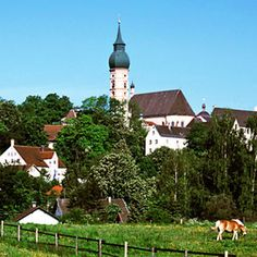 Andechs Monastery in Bavaria, a must do day-trip from Munich for some brews!