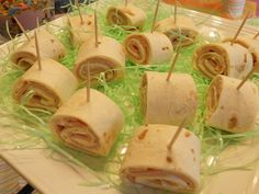 Cute Baby Shower Finger Foods | ... with the food for a super cute baby shower the theme was cute as a