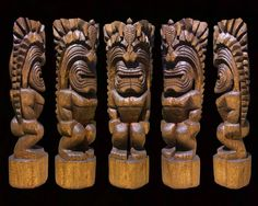 5 ft. 4 in. Cedar Tiki by TimberCoveTiki