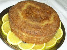 Bolo de laranja com açúcar demerara - Tempo de purim!