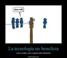 Cosas de la tecnología...