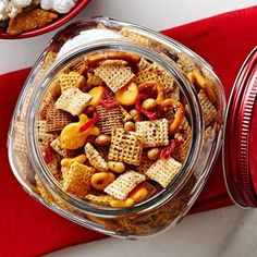 Cheesy Tomato Snack Mix | Midwest Living