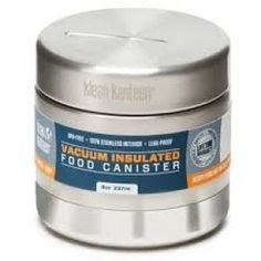 Klean Kanteen - Food Canister - Insulated - 8oz Food Canisters, Eco Kids, Back To School Shopping, Food Containers, Food Grade, Coffee Cans, Vacuums, Canning, Models