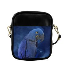 Hyacinth Macaw Sling Bag (Model 1627)