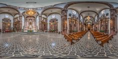 Templo de San Francisco en San Miguel de Allende, Guanajuato, Mexico. Baroque Structure from 1779 with some Interior Decorations from the Late Baroque and Neoclassical Period from the Early 19th Century
