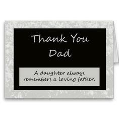 Shop Wedding Thank You Card to Parent Dad created by KathyHenis. Happy Boss's Day Quotes, Boss Day Quotes, Thank You Boss Quotes, Custom Thank You Cards, Wedding Thank You Cards, Thank You Gifts, Bosses Day Cards, Bosses Day Gifts, Birthday Wishes For Boss