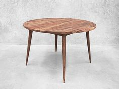 Danish Round Dining Table - Larsson Rosewood Table