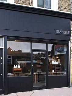 Fachada da loja 'Triangle'