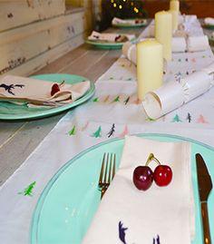 Australian Christmas Styling - olsoul.com.au #christmas #tablescape #australianchristmas #napery