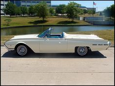 1962 Ford Thunderbird Convertible with Sports Roadster option