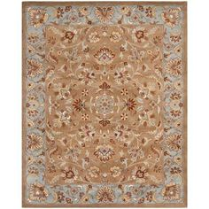 Safavieh Heritage Beige/Blue 9 ft. x 12 ft. Area Rug-HG821A-912 - The Home Depot