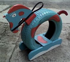 Brilliant Ways, alte Reifen in etwas neues Garten-… – … Brilliant Ways, old tires in a new … Projects For Kids, Diy For Kids, Crafts For Kids, Diy Projects, Summer Crafts, Tyre Ideas For Kids, Recycling Projects, Outdoor Projects, Diy Outdoor Toys