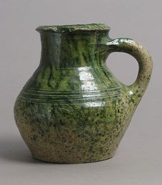 Jug Date: 1400–1600 Geography: Made in Surrey, England Culture: British