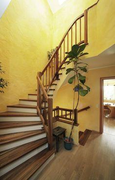 Betonstiegenverkleidung Stairs, Home Decor, Laminate Hardwood Flooring, Panelling, Boden, Timber Wood, Stairway, Decoration Home, Room Decor
