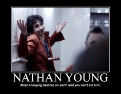 ahahaha Misfits - I CANNOT with this show