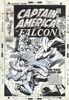 Cover to CAPTAIN AMERICA #140 by John Romita. You can see that...