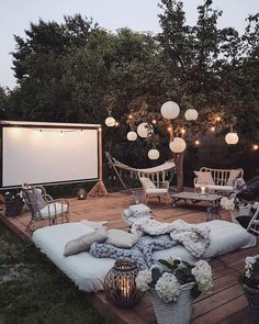 33 Fabulous Ideas For Creating Beautiful Outdoor Living Spac.- 33 Fabulous Ideas For Creating Beautiful Outdoor Living Spaces 33 Fabulous Ideas For Creating Beautiful Outdoor Living Spaces - Design Jardin, Backyard Landscaping, Big Backyard, Landscaping Ideas, Cool Backyard Ideas, Inexpensive Backyard Ideas, Outdoor Ideas, Backyard Picnic, Backyard Patio Designs