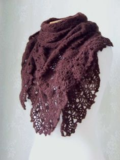 Nice Scarf :) More crochet