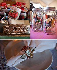 Fishing Lures in Mason Jars...MUST HAVE!!!!          Miranda Lambert + Blake Shelton: Their Wedding