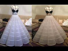 petticoat wedding dresses 2019 - shop now Corset Sewing Pattern, Gown Pattern, Dress Sewing Patterns, Indian Wedding Gowns, Diy Wedding Dress, Crinoline Dress, Gown Party Wear, Barbie Gowns, Indian Fashion Dresses