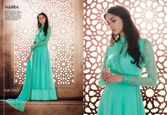 9e3a815df0c Very new designer long Salwar Kameez material. Kameez crafted with  different material like thread and