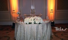 Wedding Bride & Groom Table