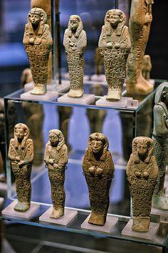 Nubian Shabits, Ashmolean Museum, Oxford.