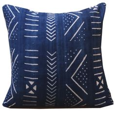 Molly – Shoppe by Amber Interiors Indigo Mud Cloth pillow $225