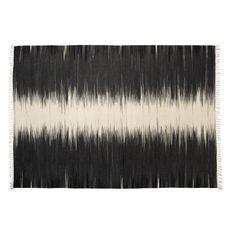 Tapis 160x230cm NOIR/BLANC Noir/Blanc - Sioux - Les tapis - Textiles et tapis - Salon et salle à manger - Décoration d'intérieur - Alinéa