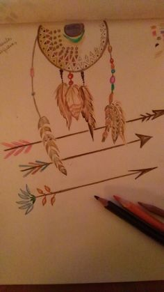 Dream Catcher, Tattoos, Home Decor, Sketch, Dreamcatchers, Tatuajes, Decoration Home, Room Decor, Dream Catchers