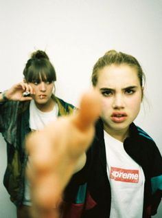 #Supreme girls by Terry Richardson