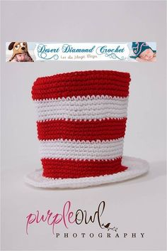 Crochet Pattern 002 Cat In The Hat All Sizes by desertdiamond (Etsy)