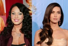Megan Fox to me is STUNNING & BEAUTIFUL EITHER WAY!!  Nobody knows exactly what Megan Fox has had done to her face, but it's clear she has like, a different face. Though she will deny it, the rumor is that she had lip injections, a nose job and Botox.