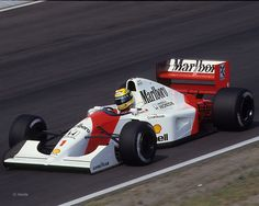 1992 GP Węgier (Hungaroring) McLaren MP4/7A - Honda (Ayrton Senna)