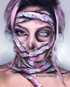 "Tilt Professional Makeup (@tiltmakeup) on Instagram: ""Wow! The details in this paint! by the amazing @theangelmakeup ❤️#makeup #makeupartist #paint…"""