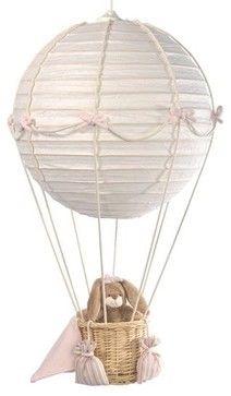 Mini Line Hot Air Balloon Nursery Lights contemporary nursery decor