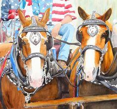 Everybody Loves a Parade - Ally Benbrook Watercolors