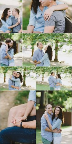 Clearly Perceived Photography Fine art outdoor engagement session inspiration. Pose Ideas, creative collage.