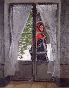Wow! #Claude Monet - The Red Cape  c.1870 - digitaler Kunstdruck, individuelle Kunstkarte günstig kaufen - auch auf Rechnung!