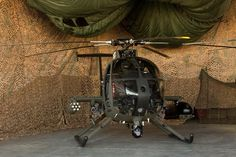 MD 530G Scout Attack Helicopter.