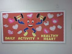 Nutrition Labels Lesson - Health And Nutrition Every Day - Nutrition Bulletin Boards - Nutrition Videos Aesthetic - Health Bulletin Boards, Nurse Bulletin Board, February Bulletin Boards, Office Bulletin Boards, Valentines Day Bulletin Board, Nurse Office Decor, School Nurse Office, School Nursing, School Displays