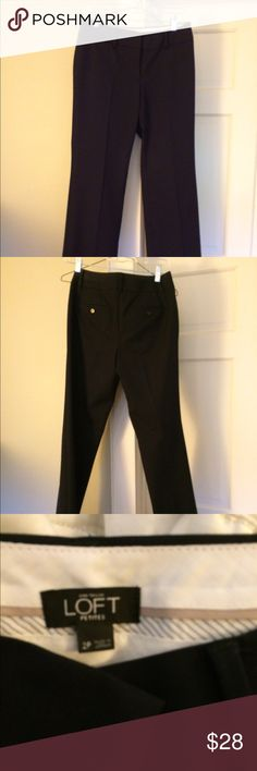 Anne Taylor Loft trousers, 2p in navy Really nice pair of professional pants in 2p. Navy blue, inseam 29.5. Anne taylor loft Pants Trousers