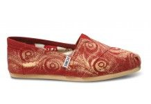 Everyone should have at least 2 pairs Toms shoes. Crazy Shoes, New Shoes, Slip On Shoes, Me Too Shoes, Shoes Men, Garnet And Gold, Red Gold, Classy And Fabulous, Passion For Fashion