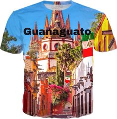 A personal favorite from my Etsy shop https://www.etsy.com/listing/541949174/guanajuato-t-shirt