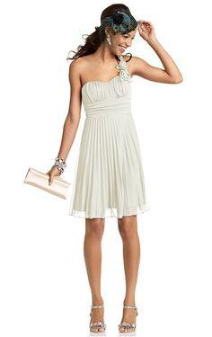 super cute one shoulder dress.