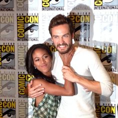 Nicole Beharie & Tom Mison