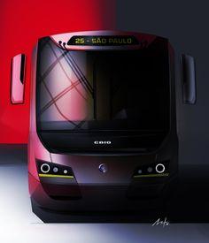 CAIO induscar bus - Arthur Murcia