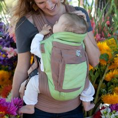 Top Ten Baby Carriers: The Onya Baby Carrier.