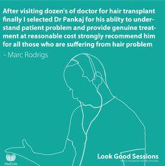 Marc Rodrigs Hair Transplant